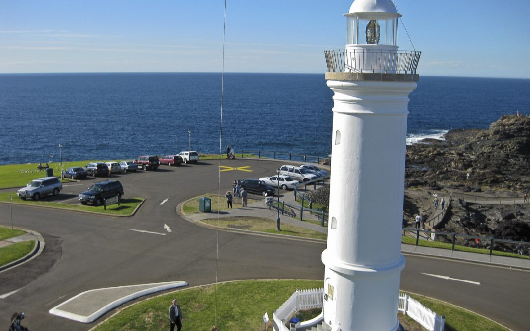 Logo on Kiama Lighthouse