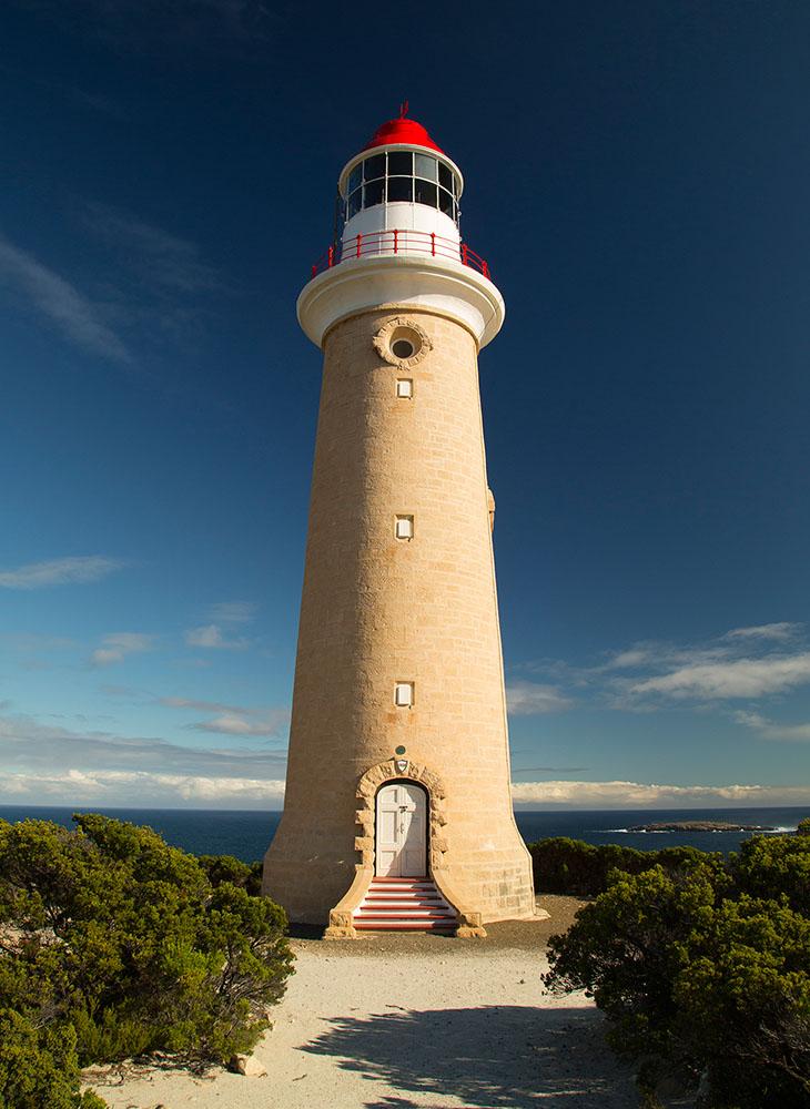 cape du couedic lighthouse lighthouses island kangaroo australia inc